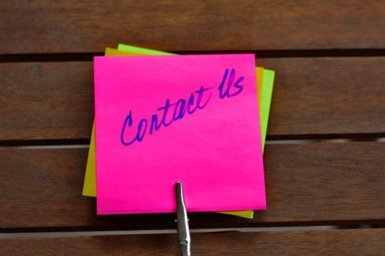 post it contact